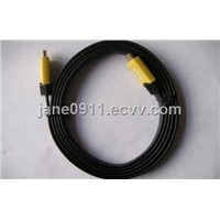 Color mold Flat HDMI Cable/Flat Cable