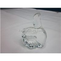 Crystal Sculpture Craft Gift for Thumb