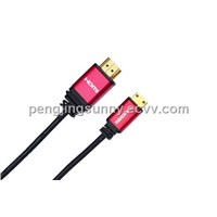D type 1080P hdmi cable for TV