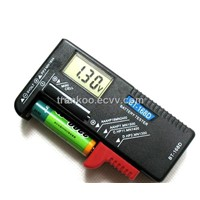 Digital Display Battery Power Tester for All 1.5V- 9V Batteries