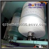 Disposable diapers with breathable film non-woven laminating machine