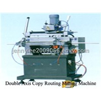 Double Axis Copy Routing Milling Machine for Aluminum and PVC Profile LXF2