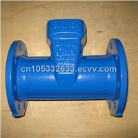 EN545 Ductile Iron All Flanged Tee