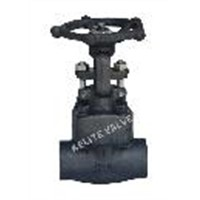 Forged steel female thread gate valve