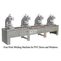 Four Point Welding Machine for PVC Doors and Windows