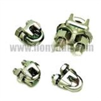 Galvanized steel wire rope clips
