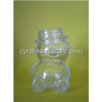 80ml Bear Glass Honey Jar