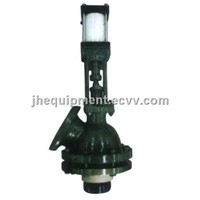 Glass Lined Flush Valve