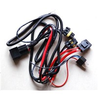 H4 HID Xenon Relay Wiring Harness with Fuse