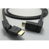 HDMI  Cable 1.4 Am-Am 360 Degree Rotatable