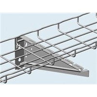 Hanysen Wire Mesh Cable Tray Wall Bracket