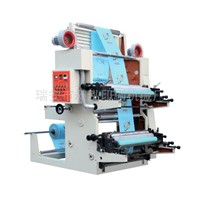 High Sped 2 Color Film Flexographic Printing Machine