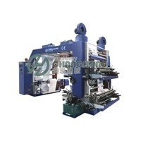 High Speed 4 Colors Film Flexo Printing Machine