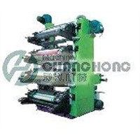 High Speed 4 Colors Flexographic Film Printing Machine