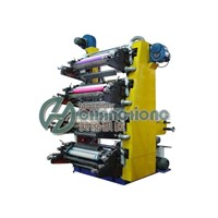 High Speed 4 Colors Plastic Film Flexographic Printing Machine