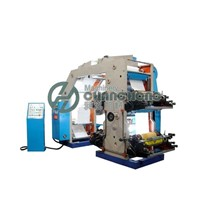 High Speed 4 Colors Roll Paper Flexography Printing Machine