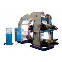 High Speed 4 Colour Flexography Printing Machine