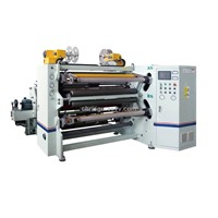 Jumbo Roll Optical Film / Blister / Aluminum Foil Copper Foil Slitter Rewinder Machine