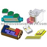 Laser Diode Stacks 2-12 Laser Diode Bar Stack