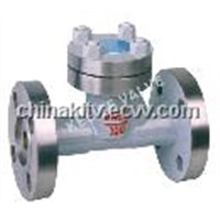Lift-type forged steel check valve