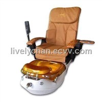 Luxury gold pedicure massage chair