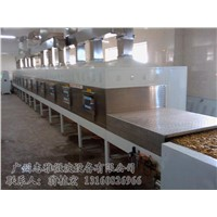 Microwave dried fruit baking equipment