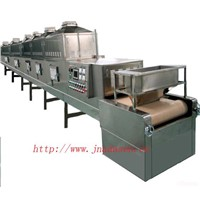 Microwave dry and sterilization machine