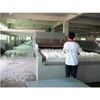 Microwave drying equipment latex products