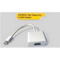 Mini Display Port to HDMI Cable Connector Converter