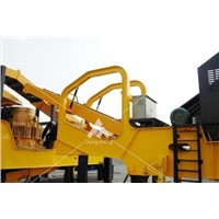 Mobile Ore Crushing Plant