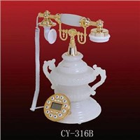 Natural Jade Classical Telephone