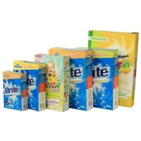 OEM BRITE (Paper Box) carton baby Laundry powder clean pruduct detergent manufacturer hand wash