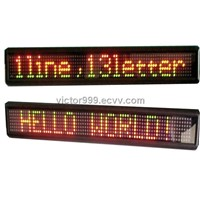One Line LED Display for Bus,Taxi