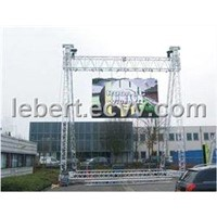 Outdoor full color curtain led display sign