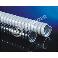 Plastic coated flexible pipe