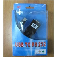 RS232-USB Cable, USB-Serial (DB9) Cable