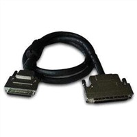 SCSI cable, DB68 cable, computer cable, peripheral, printer cable, hard disk cable,