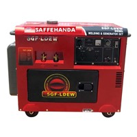 SF5GF-LDEW Power 5kw Diesel Generator / Genset