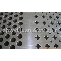 ST-ckw510 Galvanized Steel Punching Hole Mesh
