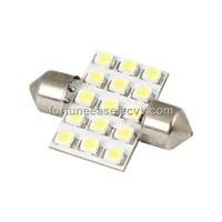 SV8.5 Festoon Lamp with 15 SMD LEDs