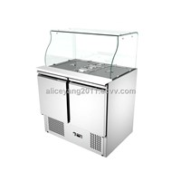 Salad Bar NWS900round glass