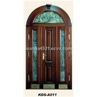 Steel Wooden Armored Door (A011)