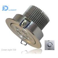 Triac Dimmer LED down light 5w