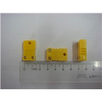 Type K Thermocouple Connector, Male & Female,Yellow Color, Small Size