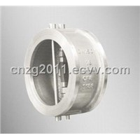 Wafer Butterfly Swing Check Valve