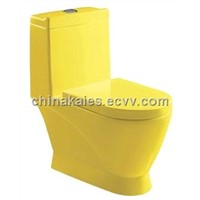 China Sanitary ware Suppliers Wash Down One-Piece Toilet (A-0184C)