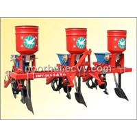 Wheat/Corn Combined Seed and Fertilizer Drill for Tractors
