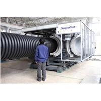 Double Wall Corrugated Pipe Machine (ZC-1000H)