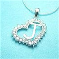 beautiful letter necklace