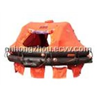 Davit-Launched Inflatable Liferaft
